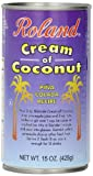 Roland Cream of Coconut, 15 Ounce (Pack of 12)