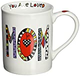 Our Name Is Mud by Lorrie Veasey Cuppa Doodle Mom 4024412, 16 OZ Mug, 4.5 IN