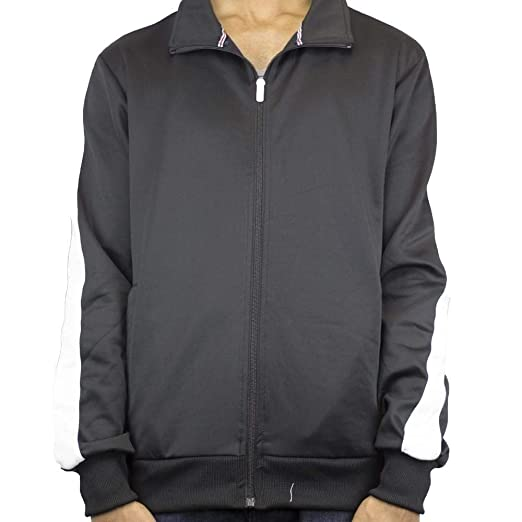 Imperious Track Jacket Black White At Amazon Men S Clothing Store