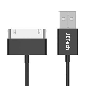 JETech Cable de Datos USB Carga Cargador Compatible iPhone 4 ...