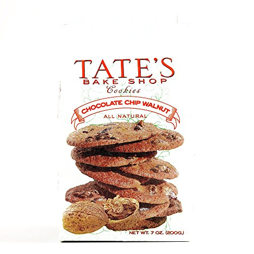 Tate's Chocolate Chip Walnut Cookies 7 oz each (1 Item Per Order)