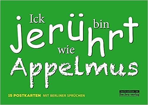 berliner sprüche Berliner Sprüche: 9783814802121: Amazon.com: Books berliner sprüche