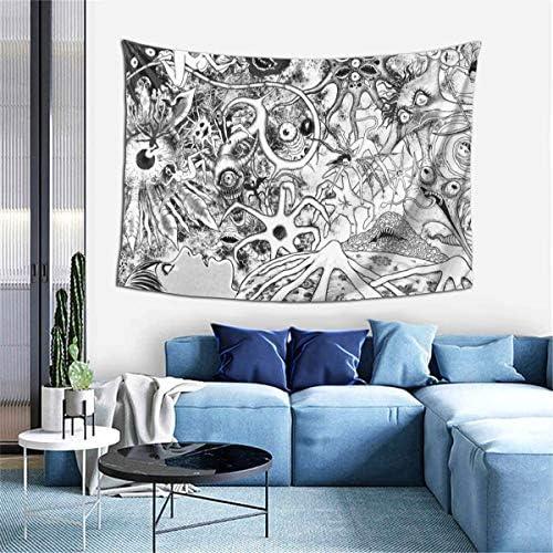 IUBBKI Tapiz Junji Ito Tomie Tapestry Wall Hanging Anime Tapestries Wall Tapestry Wall Art Home Decor for Living Room Bedroom D.