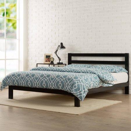 """Zinus Modern Studio 10"""" Metal Platform Bed with Headboard (Twin) from Zinus"""