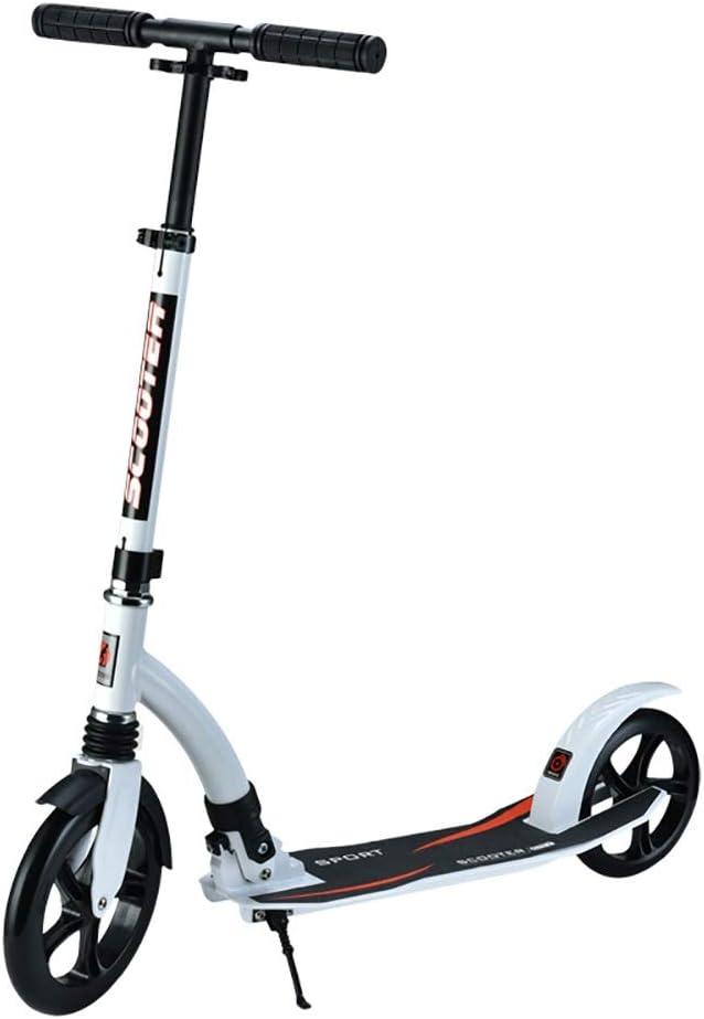 大人用 キックボード 前輪230ミリメートル大人キックスクーター大きな車輪非電気、高さ調節可能折りたたみ簡単に運ぶ (Color : Style2) Style2