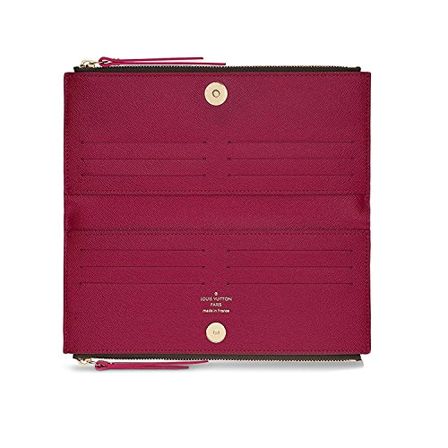 Louis Vuitton Monogram Canvas Adele Wallet Fuchsia Article: M61269 Made in France by Louis Vuitton (Image #1)