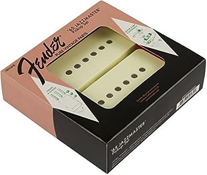 Fender 099-2239-000 Pure Vintage '65 Jazzmaster Conjunto de recogida, Blanco vintage (2)