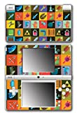 Legend of Zelda Link Retro Items Triforce Boss Key Rupee Boomerang Video Game Vinyl Decal Skin Sticker Cover for Nintendo DSi System by Vinyl Skin Designs