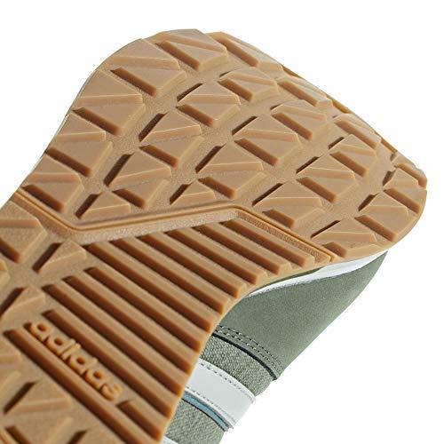 Basgrn Basgrn de Hombre Verde Entrenamiento Zapatillas Tracar Tracar Ashsil Adidas para 8k Ashsil Fwvqg1