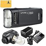 Godox AD200 TTL 2.4G HSS 1/8000s Pocket Flash Light Double Head 200Ws with 2900mAh Lithium Battery Flashlight Flash Lightning