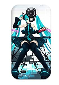 Cute Appearance Cover/tpu Vocaloid Case For Galaxy S4 2468255K62353715