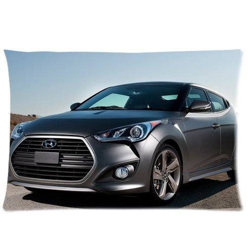 Hyundai Veloster Turbo Pillowcase?Fundas para almohada?s Custom Pillow case?Fundas para almohada? Cushion Cover 20 X 30 Inch Two Sides: Amazon.es: Hogar