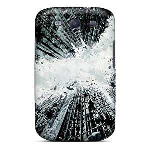 Durable Defender Case For Galaxy S3 Tpu Cover(the Dark Knight Rises 2012)