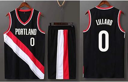 QZH Jugador de Baloncesto No. 0 Camiseta Juvenil/Infantil ...