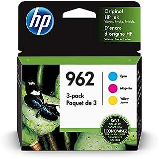 HP 962   3 Ink Cartridges   Cyan, Magenta, Yellow   3HZ96AN, 3HZ97AN, 3HZ98AN