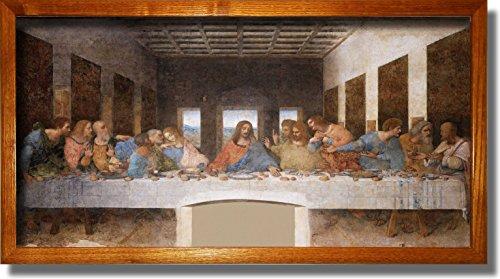 Original Leonardo Painting Stretched Decor