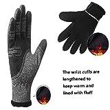 Winter Gloves for Men Waterproof, Warm Gloves