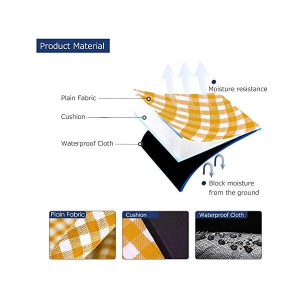 51s9mOtI8mL Simpeak Picknickdecke Wasserdicht 150x200 cm, Campingdecke wasserdichte Stranddecke für Strände/Picknicks/Parks/Camping…