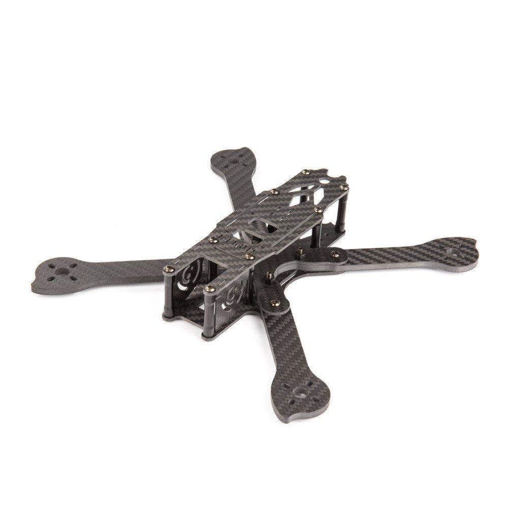ventas calientes KINGDUO Iflight xl5 V2 226Mm Distancia Entre Ejes 4Mm 4Mm 4Mm Arm Fibra De Cochebono Freestyle FPV Racing Frame Kit para RC Drone  más descuento