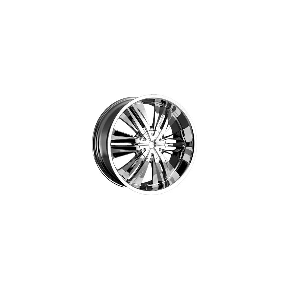 Cruiser Alloy Threshold 22x9.5 Chrome Wheel / Rim 5x5.5 with a 35mm Offset and a 108.00 Hub Bore. Partnumber 902C 2298535