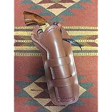 "Western Leather Holster 7.5"" Ruger Vaquero Blackhawk Old Army Uberti Pietta Black Powder"