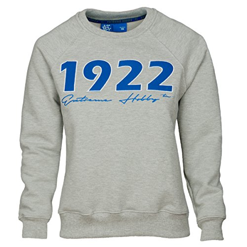 Extreme Hobby Donna Felpa Imperium Poznanskie.KKS Lech Poznan 1922. Kolejorz Lucido Football Fanatici Felpa con cappuccio