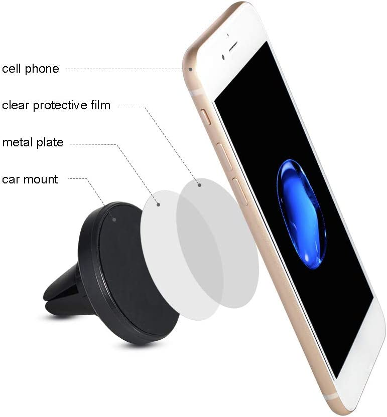 New Technology Upgraded Magnet Mount for All Cell Phones Magnetic Phone Car Mount