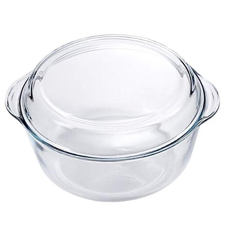 Amazon.com: Unicco Inc. sopa – sopa de cristal templado ...