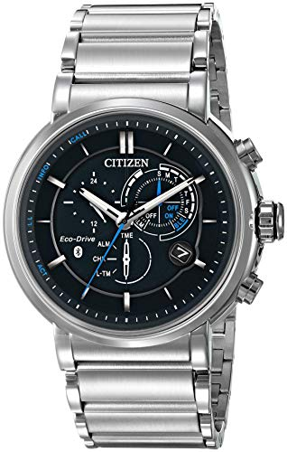 Citizen Men's Quartz Watch with Stainless-Steel Strap, Silver (Model: BZ1000-54E