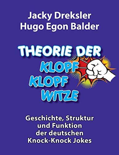 Buch-Tipp: Theorie der Klopf-Klopf-Witze