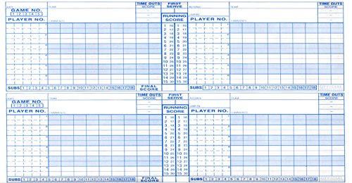 AmazonCom  Score Right Volleyball Scorebook  Coach And Referee