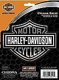 chroma graphics harley davidson - Chroma Graphics Harley Davidson Classic Emblemz Decal