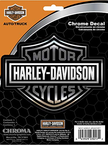 Chroma Graphics Harley Davidson Classic Emblemz Decal ()