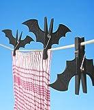 ShopAIS Bat Batman Clip Pegs Clothes Hanger Clip Set Of 2
