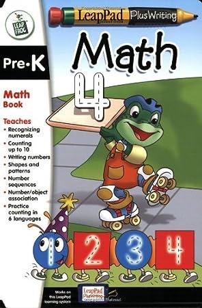 LeapPad Plus Writing: Pre-Kindergarten Book - Math: Amazon ...