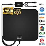 Innoo Tech TV Antenna - HDTV Antenna Support 4K 1080P, 60-120 Miles Range
