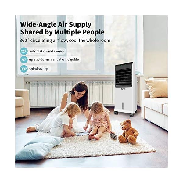 IcyAir Condizionatore Portatile, Raffreddatore d'Aria con Funzione di Purificazione dell'Aria, Ventilatore di… 6 spesavip