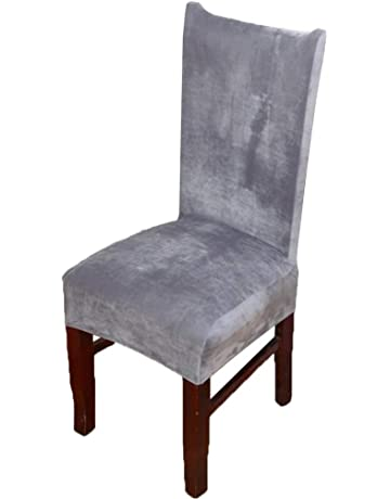Astonishing Amazon Co Uk Dining Chair Slipcovers Home Kitchen Bralicious Painted Fabric Chair Ideas Braliciousco