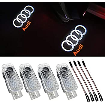 Amazon Com 4pcs Aukur Logo Projector Car Door Led