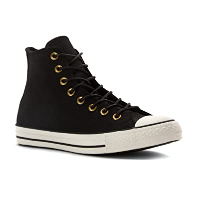 Homme Baskets | Converse All Star CT AS HI NUBUCK LEATHER Noir | CilokEnak