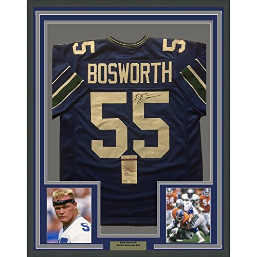 the latest ec5c2 2dd5c Brian Bosworth Seattle Seahawks Authentic Jersey