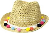 Appaman Kids Baby Girl's Fiesta Fedora (Infant/Toddler/Little Kids/Big Kids) Natural SM (6-18 Months)