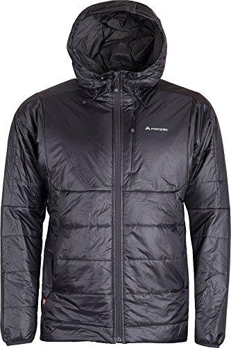 (Macpac Pulsar Insulated Hooded Jacket Mens, Phantom/Forged Iron, X-Large)