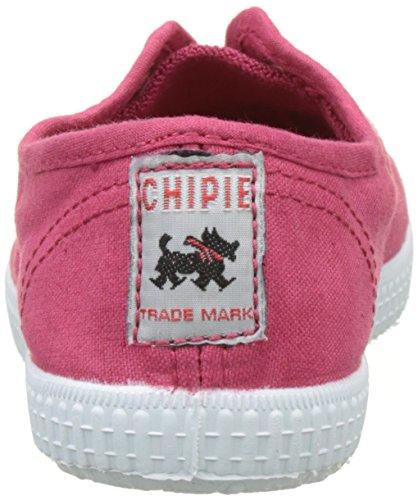 Chipie Unisex-Kinder Josepe 3 Flach, Weiß, 19 EU Rot (Kirschrot)