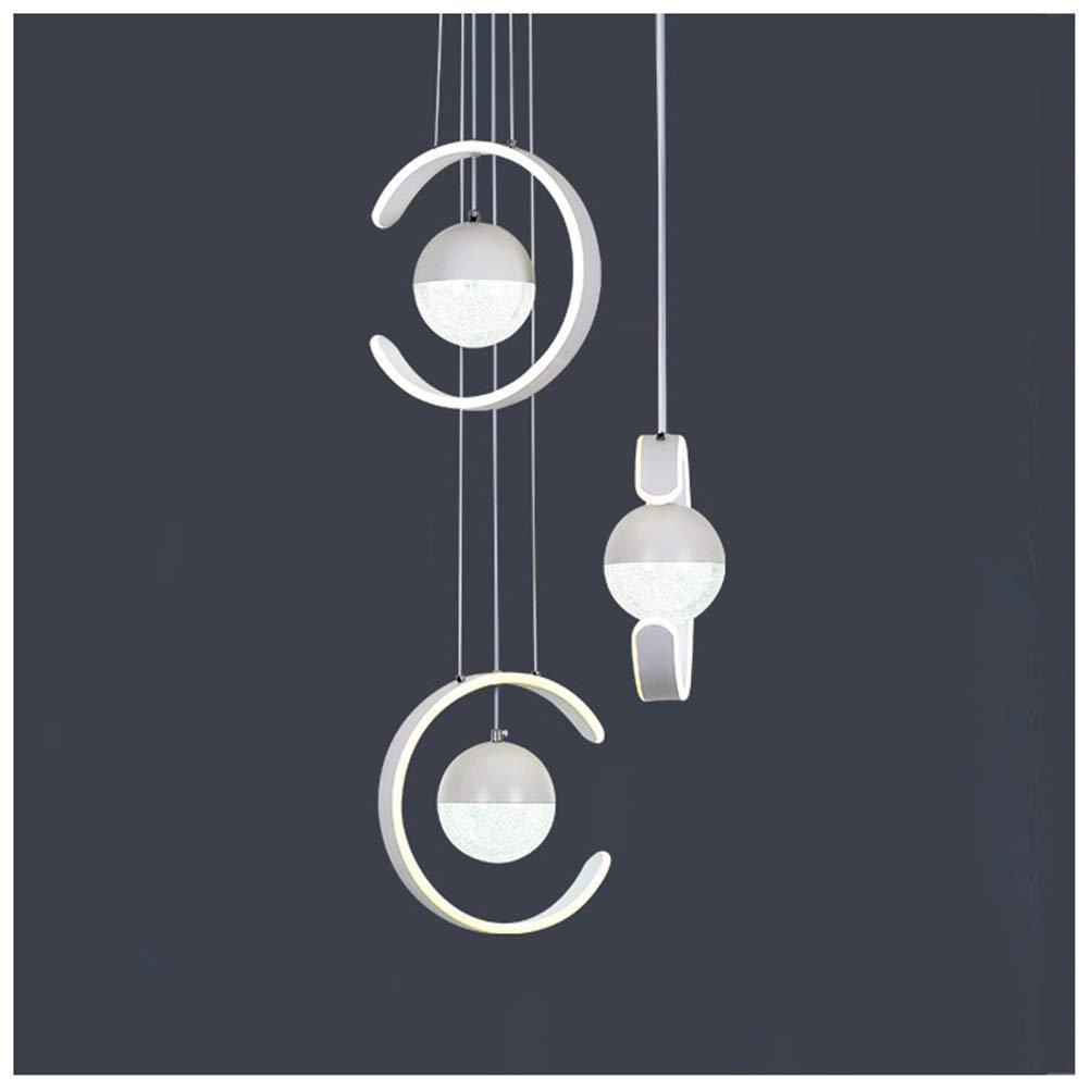 GG_L 現代のミニマリストペンダントライトledレストランシャンデリアクリエイティブ天井照明家の装飾ぶら下げランプ器具   B07TYSQLD8