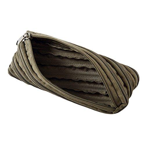 globaldeal Direct Portable Outdoor Camping Tactical Tasche Bleistift Fall Wallet Military Survival Reißverschluss Zurrgurt khaki armee-grün rwQPHyW94