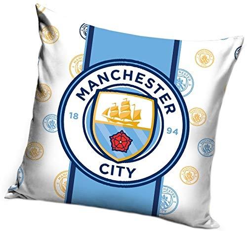 AHS Manchester City - Funda de cojín (40 x 40 cm), diseño de ...