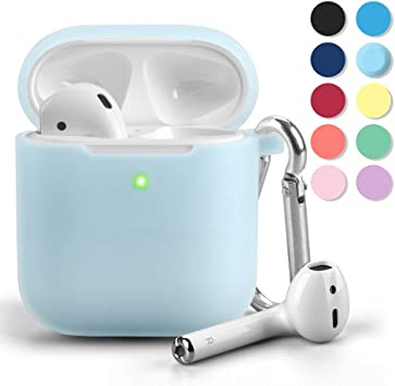 Amazon Com Airpods Case Gmyle Silicone Protective Shockproof