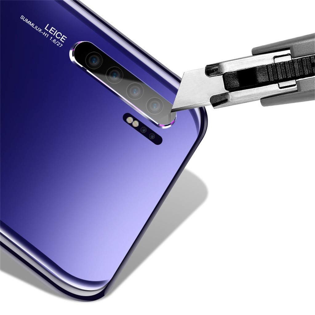 GreatFun 2 unids 5 unids P30 Pro Protector de Lente de c/ámara A Prueba de rayones Lente de la c/ámara Protector de pel/ícula de Fibra de Vidrio para Huawei P30 Pro 6.47 Pulgadas