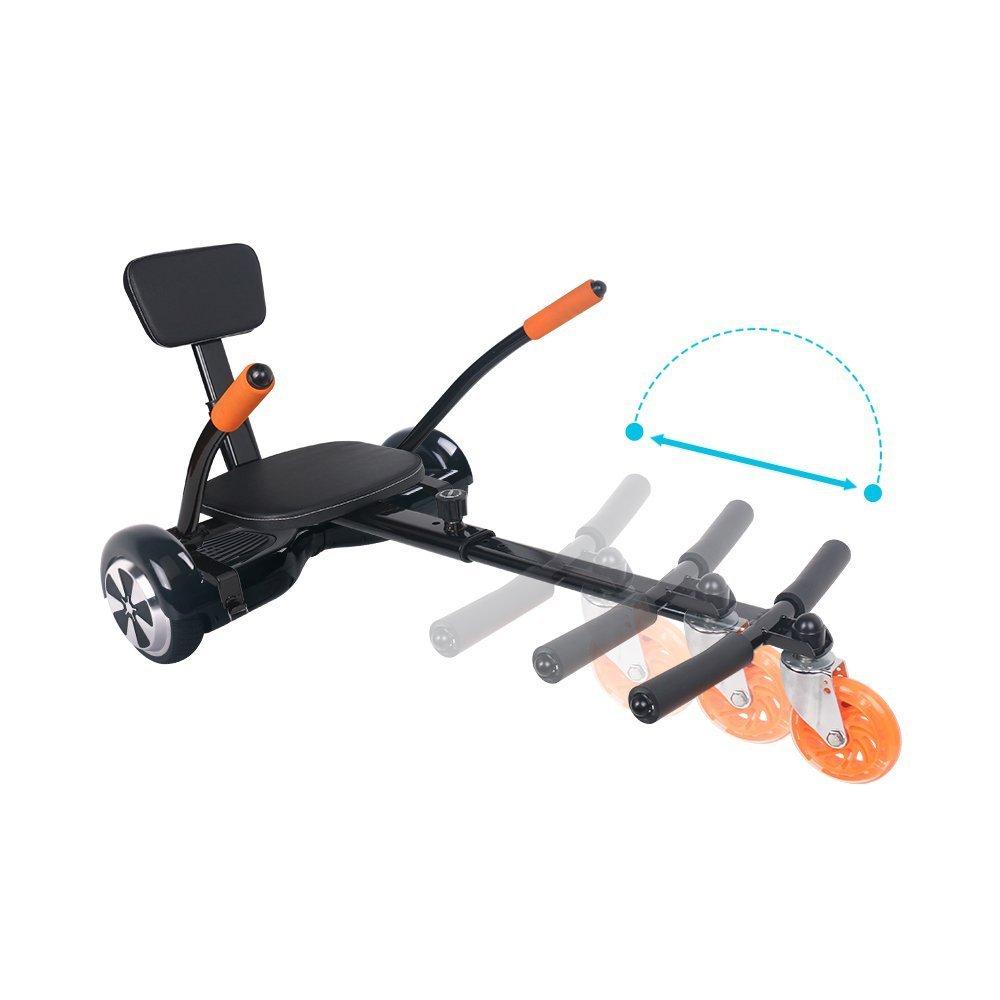 BEBK Hoverkart Asiento Kart para patinete eléctrico, Scooter ...